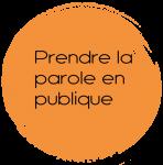 Ambcoform cercle orange prendre l parole en publique 148x150 - Participer à un atelier