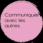 Ambcoform cercle rose communiquer avec les autres 148x150 - Participer à un atelier
