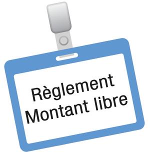 Ambcoform Badge reglement montant libre 02 - Products