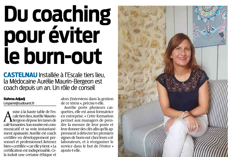 ARTICLE SO - Bienvenue - AMB Coform - Aurélie Maurin Bergeon - Coaching - Conseil - Formations