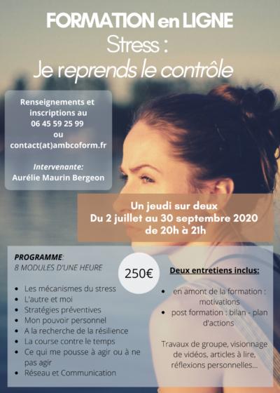 FORMATION STRESS 400x560 - Pour les Entreprises - Formations professionnelles